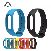 2016 New Xiaomi Mi Band 2 Bracelet Strap Miband 2 Colorful Strap Wristband Replacement Accessories For Mi Band 2 Silicone Stock