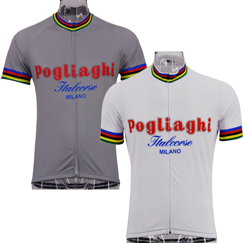 Multi Classical Retro Milano Italia New Team Cycling Jersey Customized Road  Mountain Race Top OROLLING Maillot 22efbf7dd