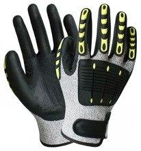 Anti Vibration Gloves Shock Absorbing Working Vibrastop Anti-Vibration Full Finger Impact Resistant Work