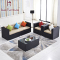 Home living room villa leisure cushion rattan chair custom manufacturers selling European outdoor rattan chairs combination sofa
