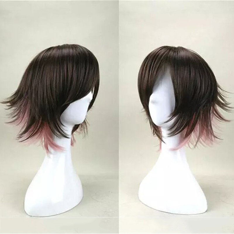 HAIRJOY Synthetic Hair Wigs Short Straight Cosplay Wig  13 Colors Available Freeshipping 3