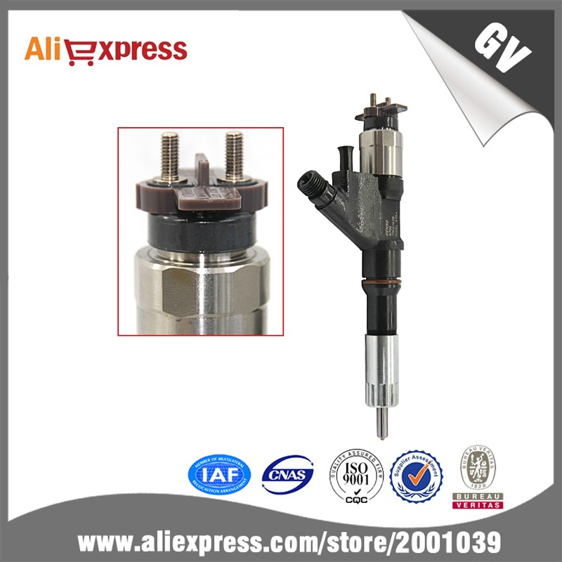 Common rail injector 095000 6700 for Denso, diesel fuel Injector ,common rail injection parts OEM 0950006700