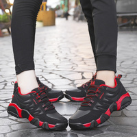 Couples Running Shoes Autumn Winter Mens Tracking Sneakers Black Blue Women Trainers Shoes Comfortable Walking Sneakers