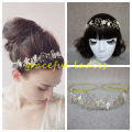 Wedding Hair Accessories Real Image 2016 Bridal Accessories Beading Crystal Fashion Ladies Hairwear New Sexy Cheap
