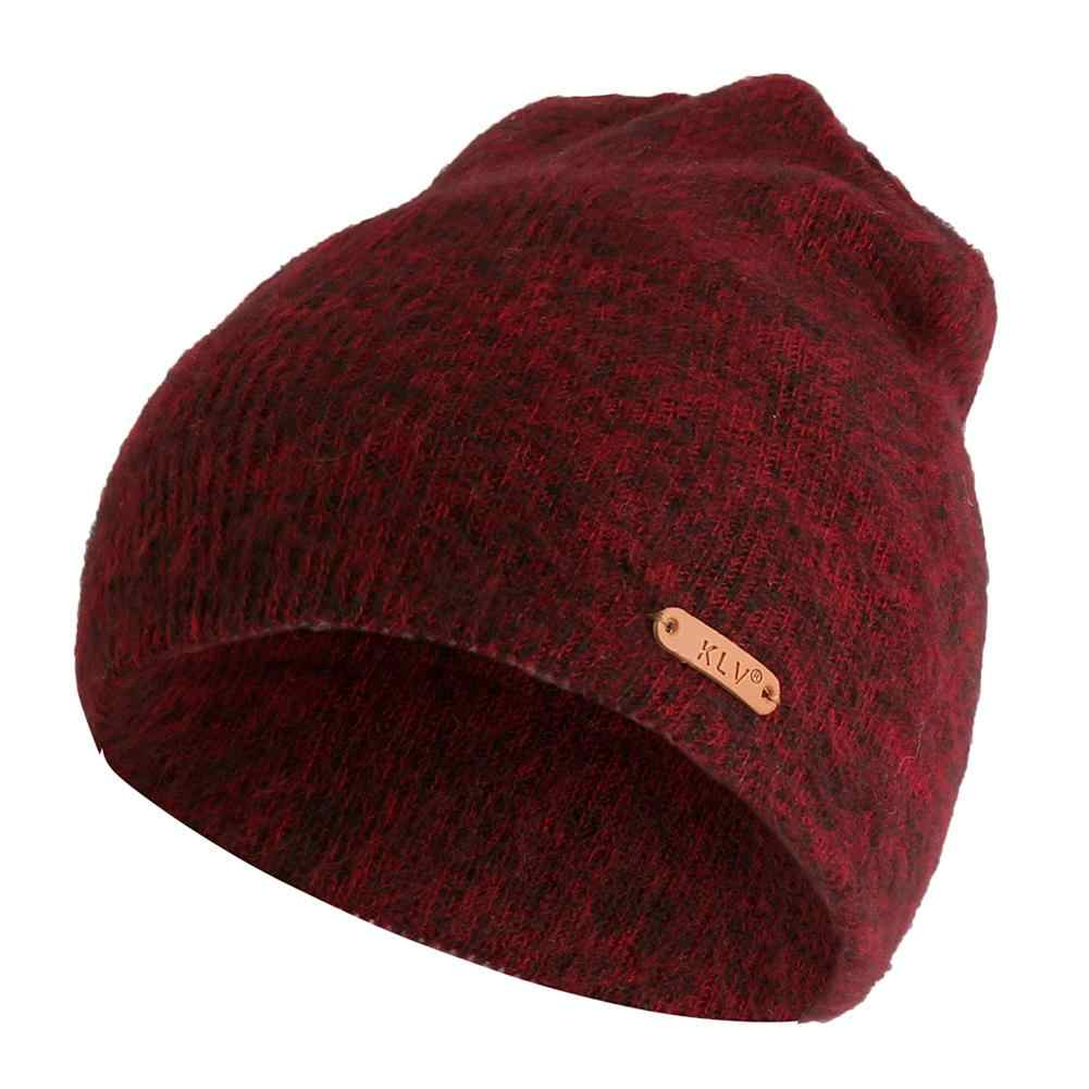4fb73abe6ea MISS M Woolen Hat Unisex Autumn And Winter Men s And Women s Short Cashmere  Knitted Hats Casual