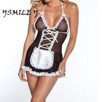 Plus Size Women Sexy Lingerie Lace Dress Underwear Babydoll Sleepwear G String