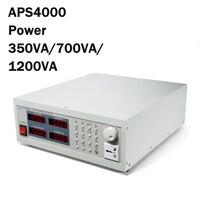 Источник питания переменного тока питания тип хранения переменная частота питания Выход двойное страхование 220 В 50 Гц 60 Гц вход APS4000