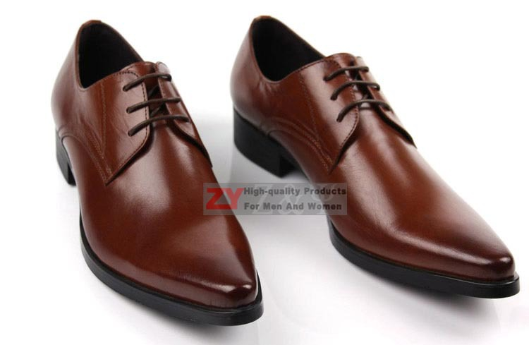 New Real Leather Business Mens Dress Shoes Formal Shoes