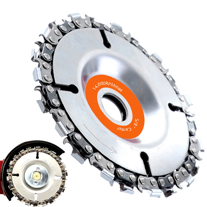 22 Tooth Grinder Disc And Chain 4