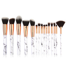Fashion Girl Product 15 Pcs Makeup Brush Set Professional Fa