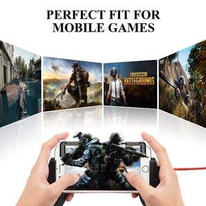 Image 5 - PUBG Controller di Cellulare per il iphone Android Phone Game Pad Mobile Gaming Gamepad Joystick L1 R1 Trigger L1RI Pulsante di Fuoco