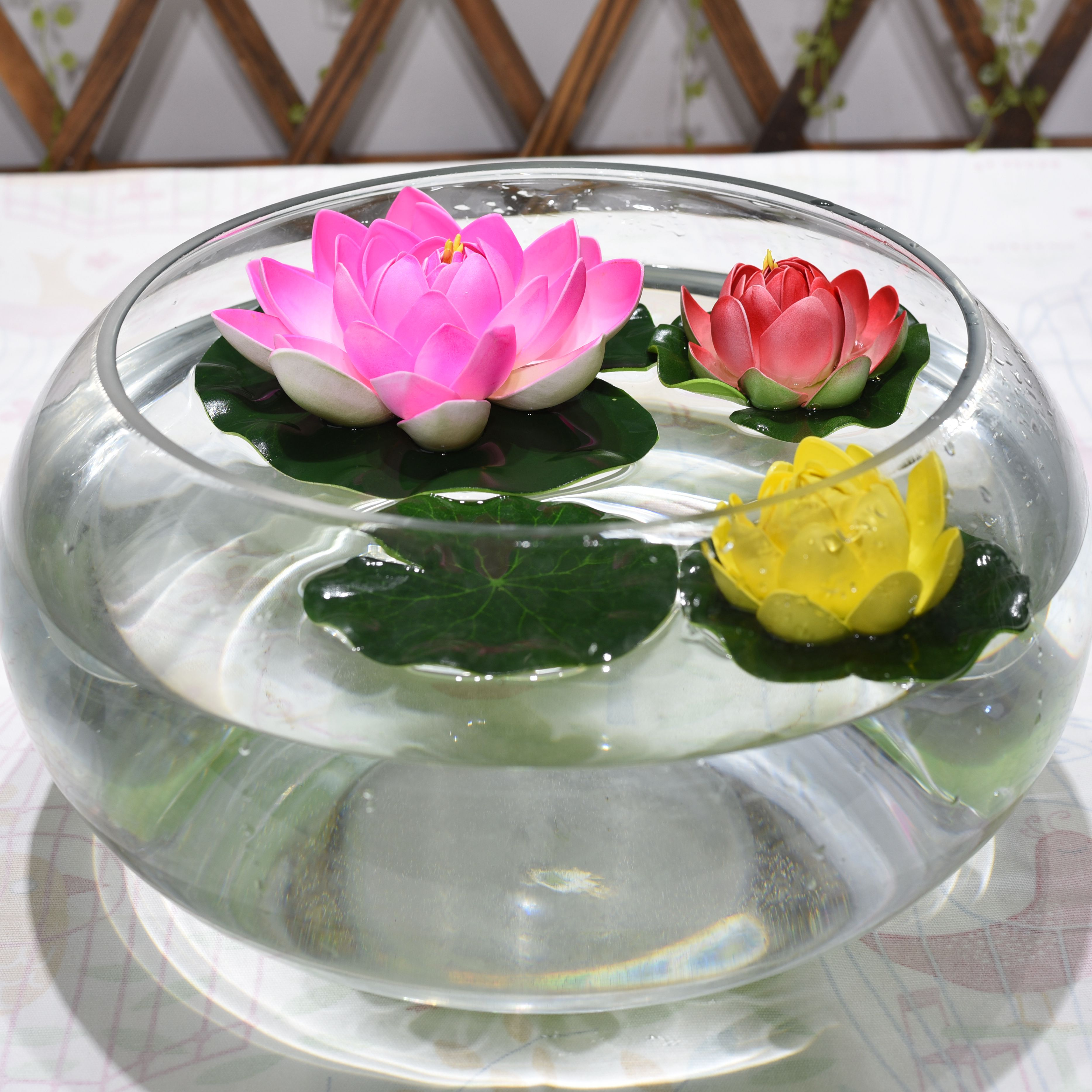 1pcs 17cm Artificial Lotus Flowers Fake Bouquet For Wedding