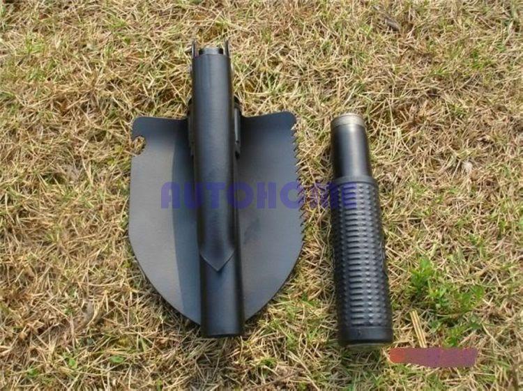 1X4 в 1 Многофункциональный складной лед, снег, лопата инструменты для чистки армейский мешочек складной Открытый