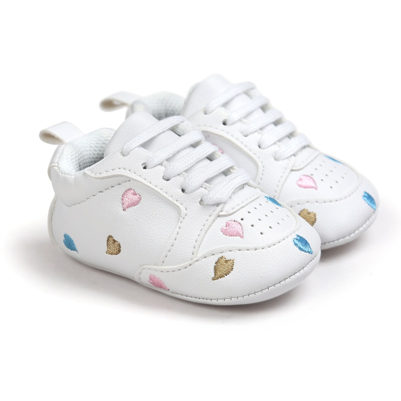 New Baby Moccasins Infant Anti-slip PU Leather First Walker Soft Soled Newborn Sneakers Branded Baby Shoes