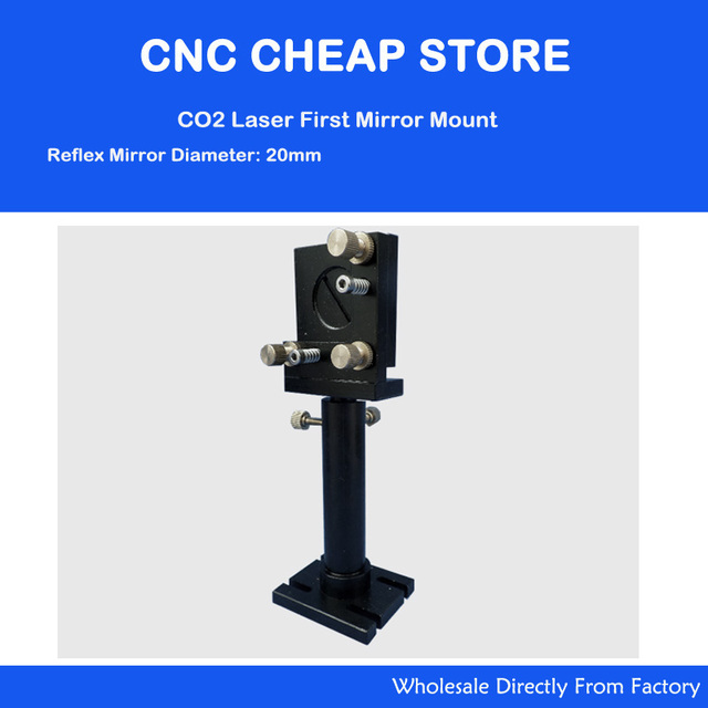 Co2 Laser First Reflection Mirror Mount Support Integrative Holder 20mm Dia for Laser Engraving Cutting Machine Free Shipping