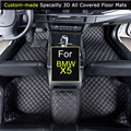 Car Floor mats for BMW  X5 E53 E70 F15 Car styling Foot Rugs Carpets 3D All-covered Waterproof Black Brown Beige