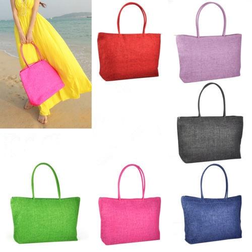 AUAU Hot New Design Straw Popular Summer Style Weave Woven Shoulder Tote Shopping Beach Bag Purse Handbag