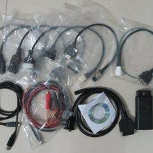 Универсальный мотоциклетный сканер для YAMAHA, SYM, KYMCO, HTF, PGO для мотоцикла suzuki диагностический инструмент 2 года гарантии полные кабели