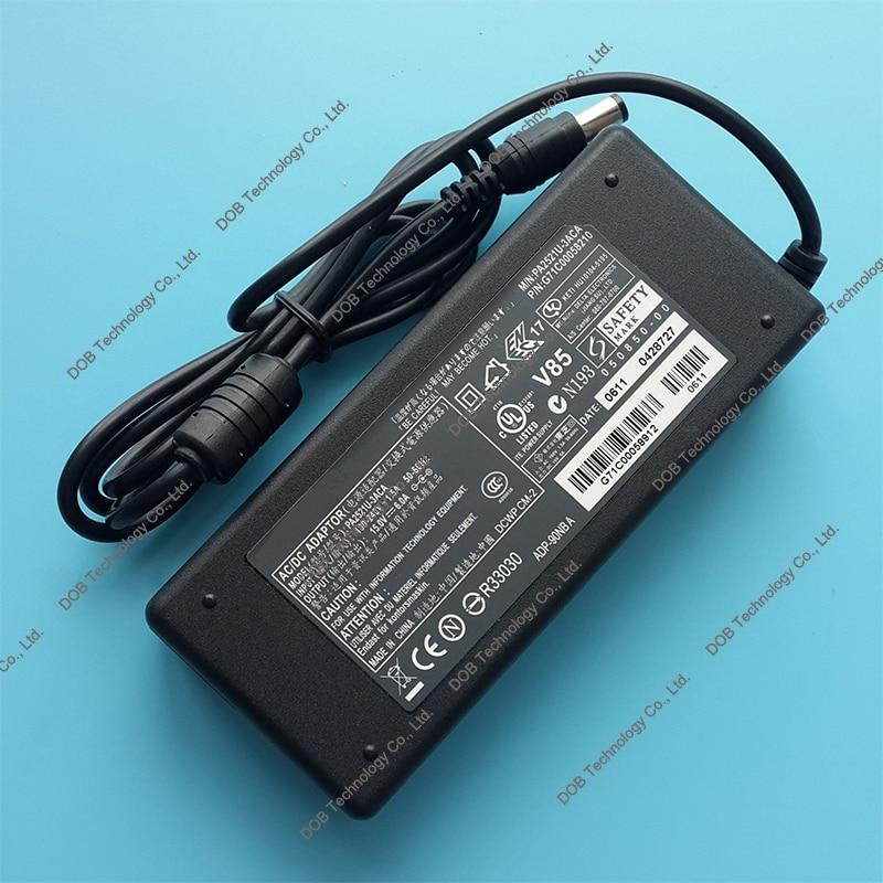 Wholesale 15V 6A 6.3*3.0mm Replacment Laptop AC Power Adapter <font><b>Charger</b></font> for <font><b>toshiba</b></font> PA2501U PA2521U A100-ST8211 F50