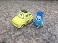 Pixar Автомобилей Фильм 1:55 Металл Литья Под Давлением Гонка Команды Луиджи и Гвидо 2 шт. Toy Cars Set Новые Свободные
