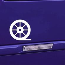 14.9cm*14.2cm Movie Film Reel Old Car-Styling Motorcycle Funny Car Window Bumper Sticker