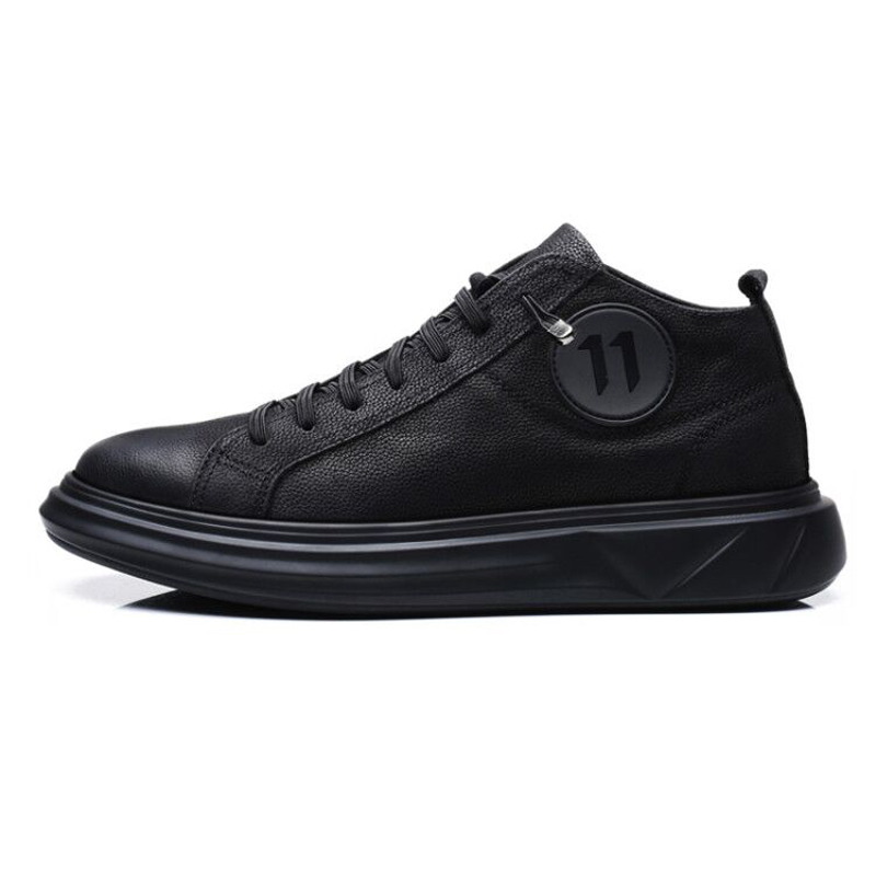 Fur Appartements Black Chaud Neige Printemps 6335 Hiver D'hiver Bottes With Forêt Cheville High Géant Hommes Top Chaussures black TnSqw6xvp