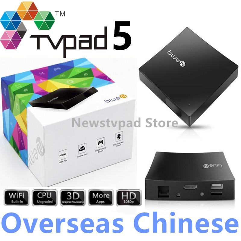 US $139 0 |HTV BOX 5 Tvpad4 tvpad 4 Upgraded TVPAD5 Bluetv M425 Chinese  IPTV Free HD Live Taiwan Hong Kong Cantonese TVB Channel Streaming -in  Set-top