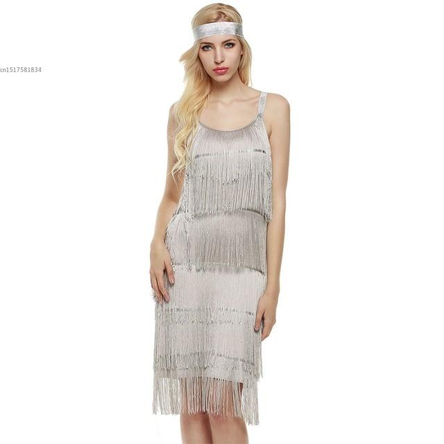 70f9e434227 Fringe Spaghetti Strap Vestido Moda Estilo Mulheres Sem Mangas Praia Vestido  Melindrosa Trajes para Clubwear Das