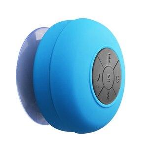 Image 3 - Bluetooth Speaker Draagbare Mini Draadloze Waterdichte Douche Luidsprekers Voor Telefoon MP3 Bluetooth Ontvanger Hand Gratis Auto Speaker