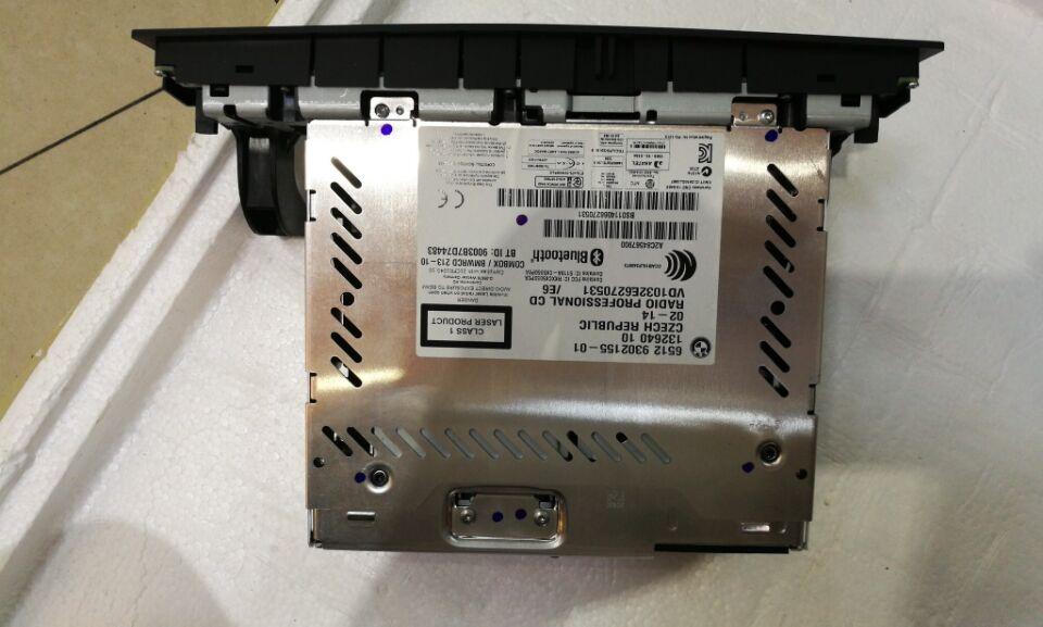 Radio professionnelle 6512 9343207-01 pour E60 E84 E87 E90 E91 avec USB Mirphone MP3 Bluetooth téléphone lecteur CD pour BMW