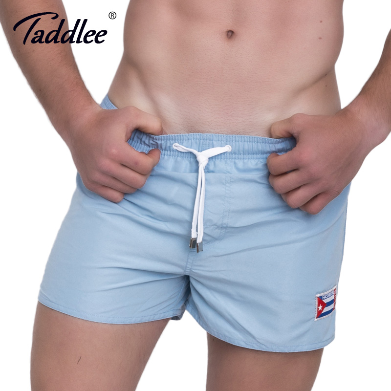 Taddlee Brand Men's Beach   Board     Shorts   Quick Drying Men Swimwear Swimsuits   Short   Bottoms Male Plus Size Boardshorts Jogger Trunk