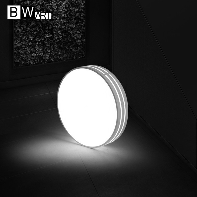BWART Modern LED ceiling light white Minimalist style Round decoration fixtures study dining room balcony bed room ceiling lamp
