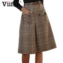 07cc75f37e810f Tweed Skirts for Women Knee Length Promotion-Achetez des Tweed ...