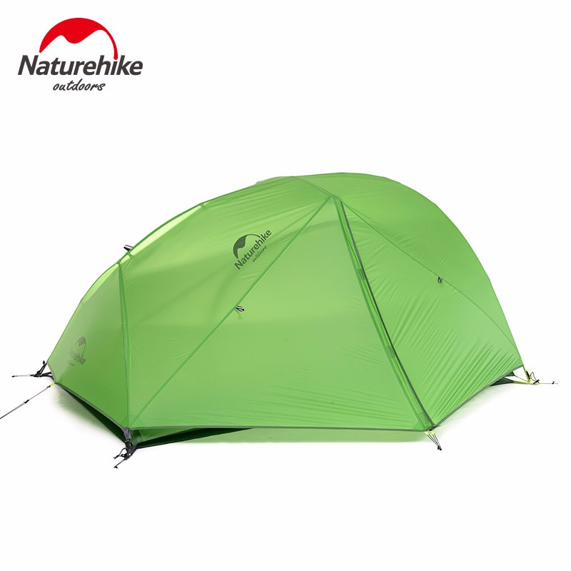 NatureHike 2 Person Tent Waterproof Hiking Tent Double layer Tent with Skirt 4 season Travel Tent for C&ing NH17T012 T -in Tents from Sports ...  sc 1 st  AliExpress.com & NatureHike 2 Person Tent Waterproof Hiking Tent Double layer Tent ...