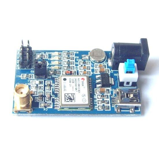 free shipping NEO-6M-0-001 GPS UBLOX module development board