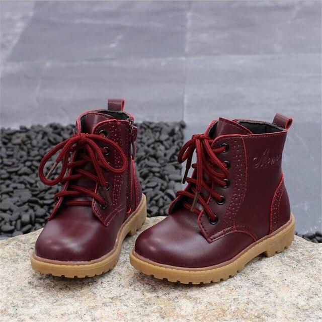 Winter snow boots shoes plus velvet warm waterproof cotton boots Martin boots