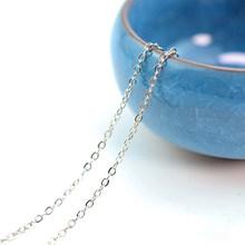 Bracelet For Jewelry Making DIY Matching Connector Thin Necklace Chain Findings Cross Craft Flat Tails Extender Metal(China)