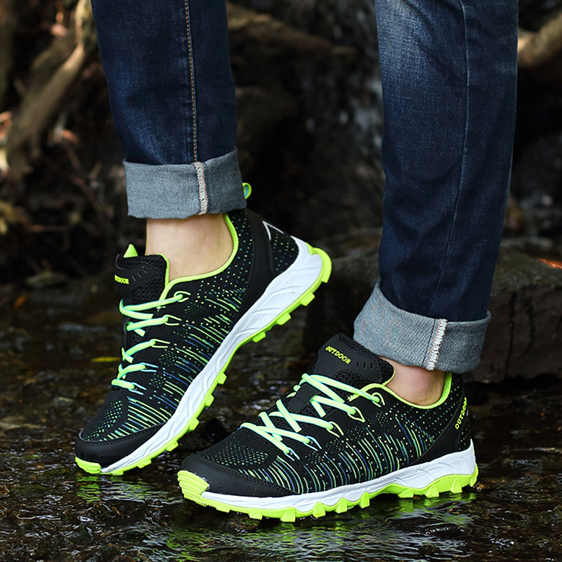 Outdoor Sneakers Women Men Sports Aqua Water Shoes Breathable Spring Summer cool Sneakers Sports Water Couples Shoes #5265