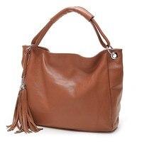 2017 New Leather Bag Women Handbags Tassel Female Bag Crossbody Women S Shoulder Bags Ladies Casual