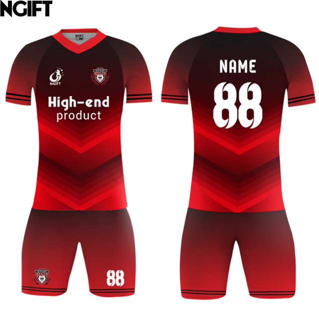 US $32 3 15% OFF|Ngift sublimated customize blank soccer jersey blazer  football team uniform OEM logos,name numbers camisas futebol Training  suit-in