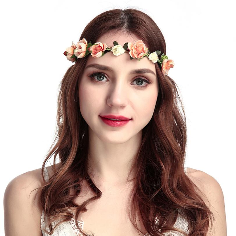 NEW Floral Flower Wreath Festival Wedding Garland Hair Head Band Beach Party Gifts Kunstbloemen