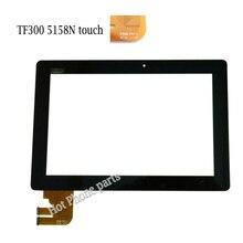 Caliente nuevo original de 10.1 pulgadas para asus transformer pad tf300t tf300 5158n fpc-1 de la pantalla táctil de cristal digitalizador envío libre