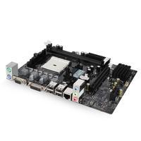 HUANAN ZHI A55 Motherboard For AMD FM1 A8 A6 A4 DDR3 16GB SATA2.0 USB2.0 PCI E M ATX 218*170mm Mainboard