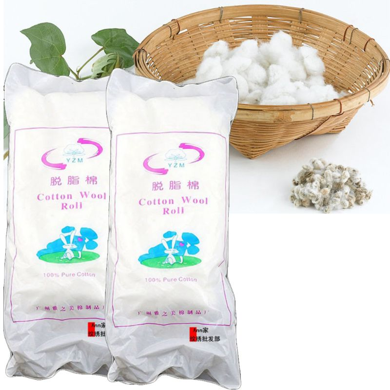 200g Medical Disinfection Tampons Absorbent Cotton Rolling Balls Sanitation Cleaning Surgery Healthy Hygiene Makeup Accessories