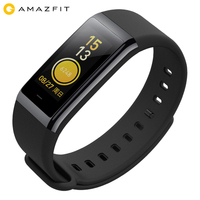 Xiaomi Amazfit Cor Smart Band Heart Rate Fitness Tracker 50M Waterproof 1.23 inch Color IPS Screen 12 Days Standby Bracelet