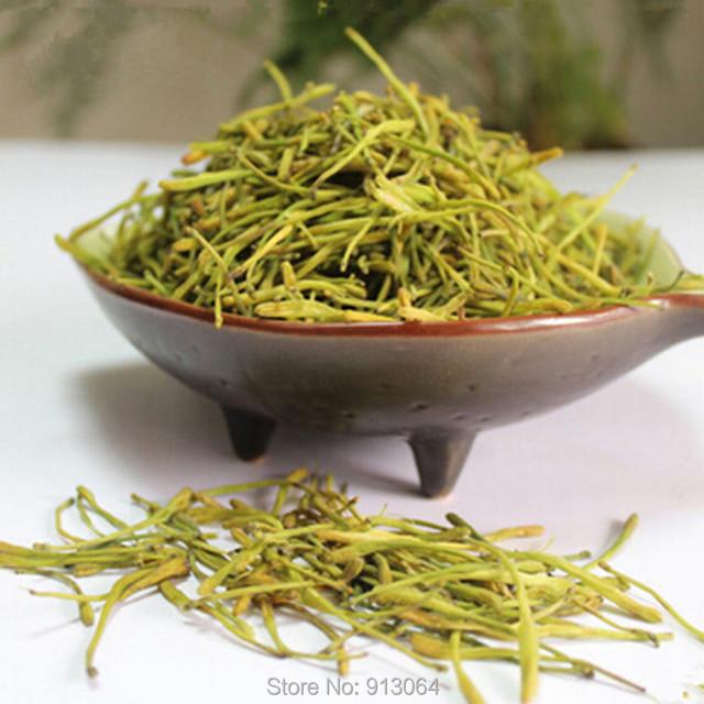 1 kg Envío gratis Madreselva té Verde Bajar de Peso Té de La Flor Medicina Herbal Tea Clearing Calor Lonicera japonica té perfumado