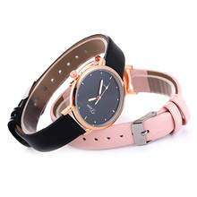Zegarek Damski Women Watches PU Leather Classic Quartz Watch Women Watch Casual Dress Wrist Watch Sports Clock Relogio Feminino