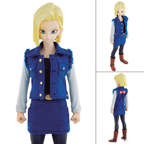 DIMENSION of DRAGONBALL Z (DOD) Android no.18 Action Figure Japan Anime Collectible Mascot Toys 100% Original attack on titan master stars piece levi ackerman action figure collectible mascot toys 100% original