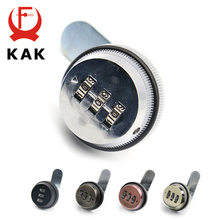 KAK Combination Cabinet Lock Black/Silver Zinc Alloy Password Locks Security Home Automation Cam Lock For Mailbox Cabinet Door