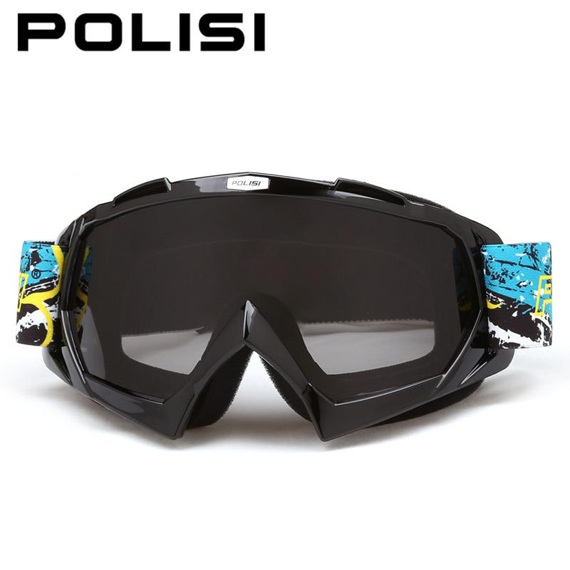 POLISI Мотокросс по бездорожью очки Мотоцикл Байк mbx для горных лыж Очки Airsoft Пейнтбол Эймс защитные очки